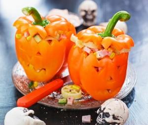 Halloweenpaprikor